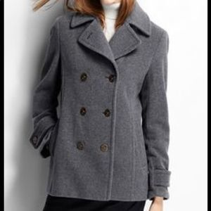 CALVIN KLEIN  Gray Coat 4